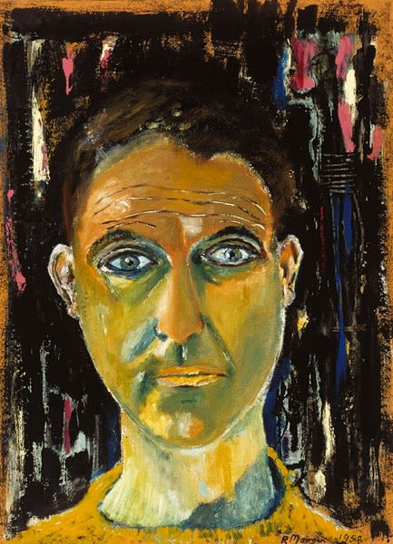 Robert Morgan, Self-Portrait, 1958
