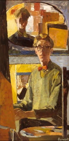 Peter Berrisford, Self-Portrait, c.1956