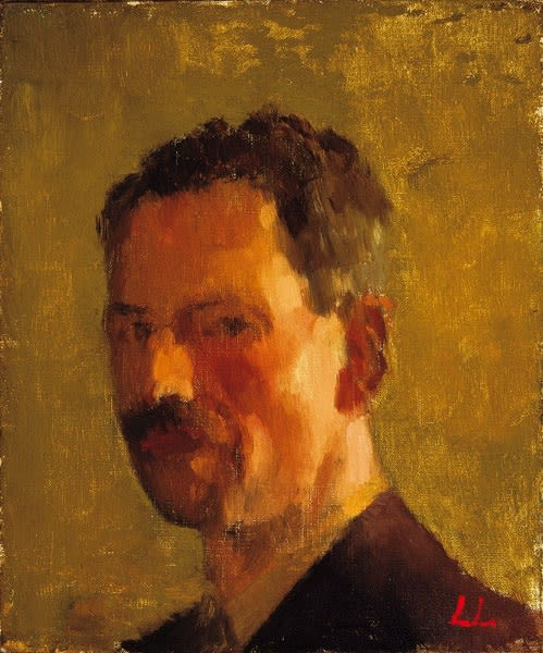 Lynton Lamb, Self-Portrait, 1938