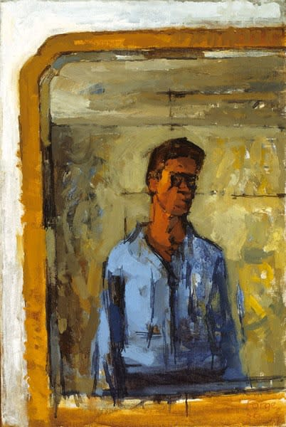 Andrew Forge, Self-Portrait, 1956