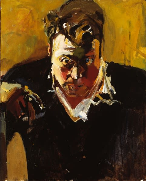 Frank Wilcock, Self-Portrait, 1967