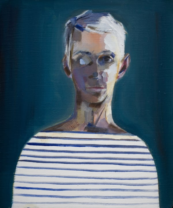 Sally Muir, Self-Portrait without Glasses