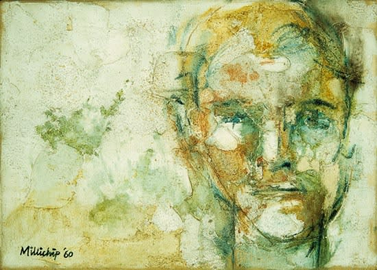 Paul Millichip, Self-Portrait, 1960