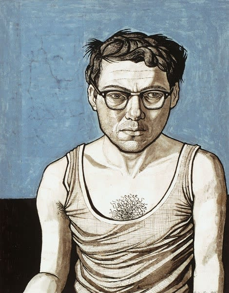 Brian Rees, Self-Portrait, c.1955-63