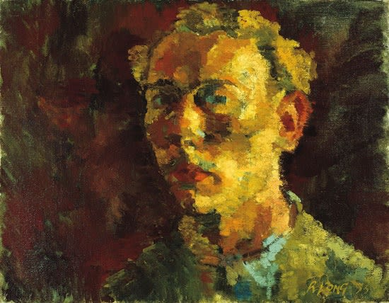 Ronald Long, Self-Portrait, 1953