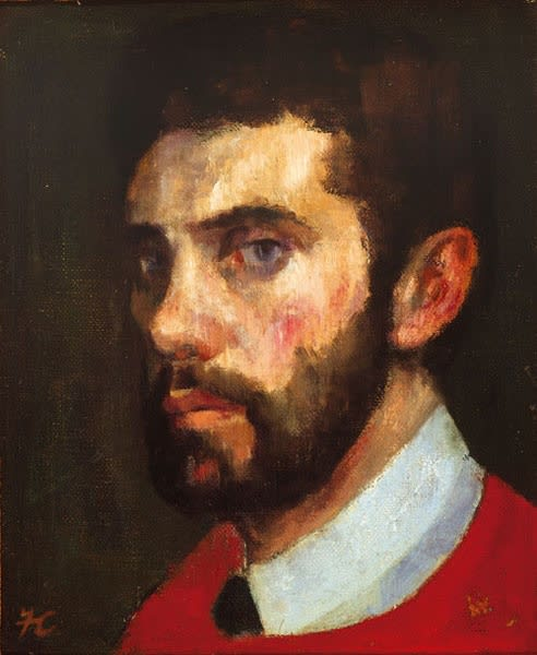 Frederick Cuming, Self-Portrait, 1959