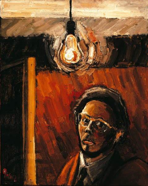 Anthony Green, Self-Portrait, 1960