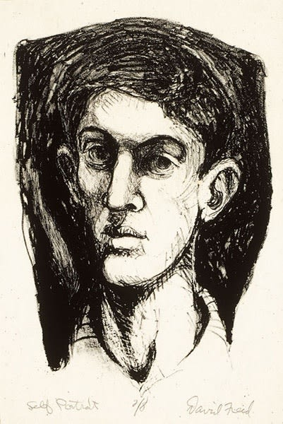 David Freed, Self-Portrait, 1964