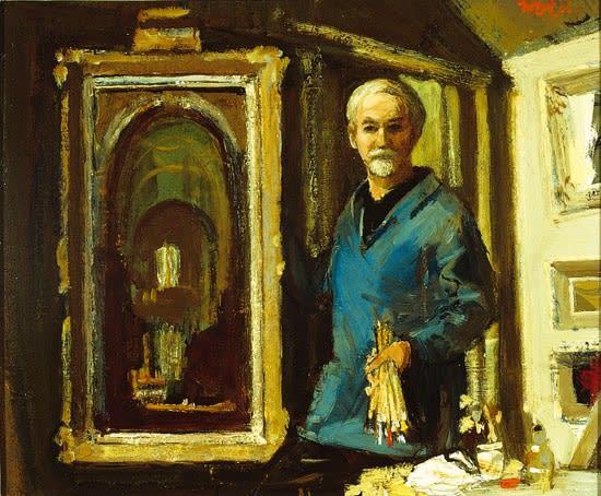 Charles McCall, Self-Portrait, 1965