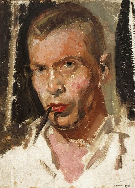 Raymond Coxon, Self-Portrait, 1921