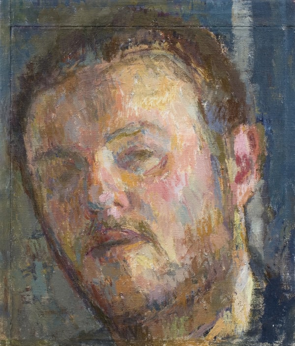 Daniel Shadbolt, Self-Portrait, 2009
