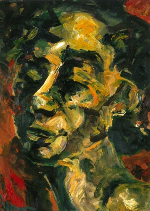 Suzanne Perlman, Self-Portrait, 2002