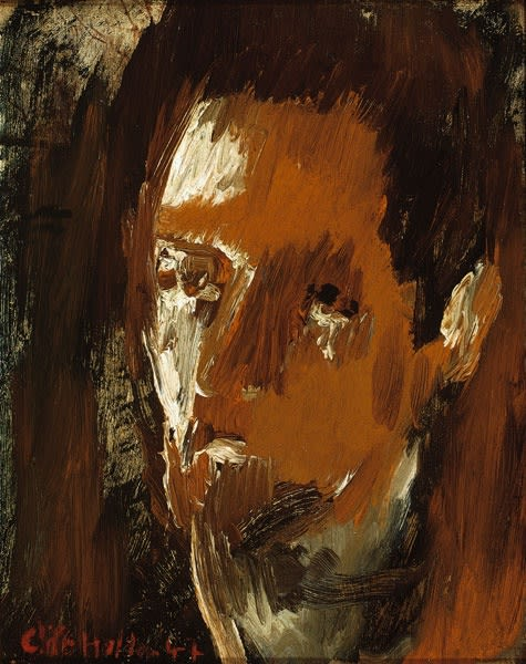 Cliff Holden, Self-Portrait, 1947