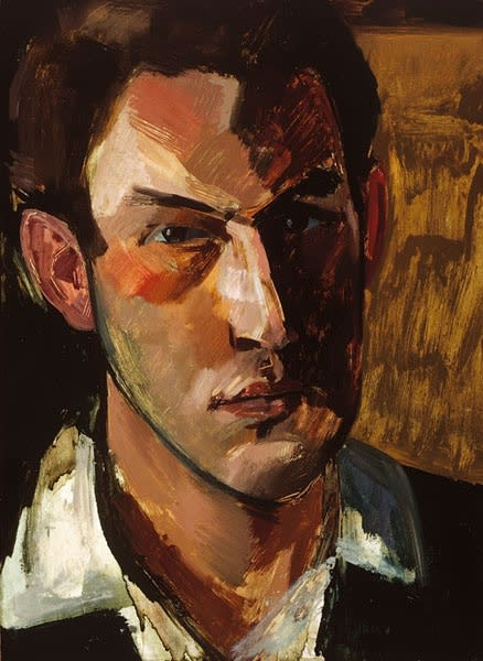 Anthony Freeman, Self-Portrait, 1960