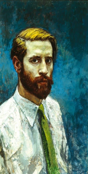 Michael Noakes, Self-Portrait with Beard, 1958