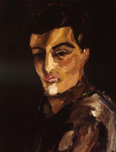 Ben (Gerald) Levene, Self-Portrait, 1958