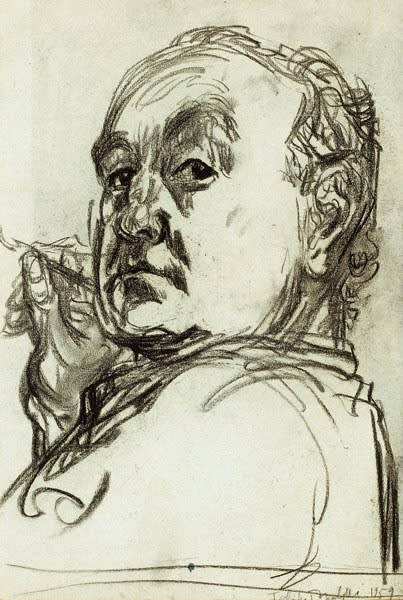 Feliks Topolski, Self-Portrait, 1959
