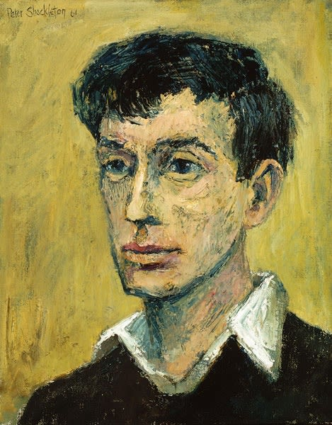 Peter Shackleton, Self-Portrait, 1961