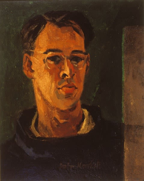Dunbar Marshall, Self-Portrait, 1957
