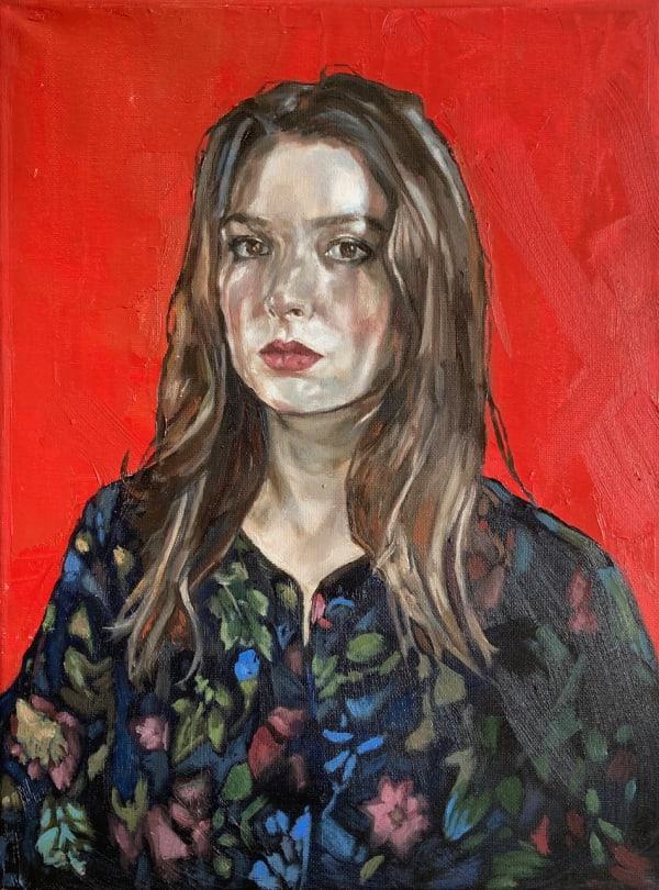 Alicia France, Self-Portrait in Shoreditch Dress