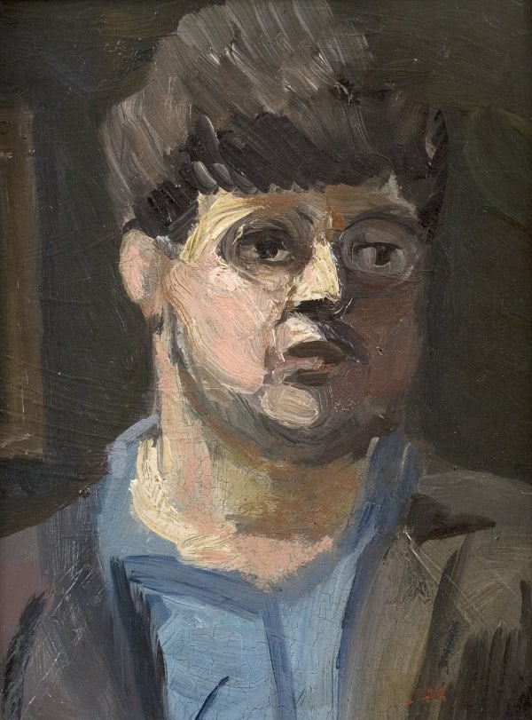 Claude Rogers, Self-Portrait no.5, 1934