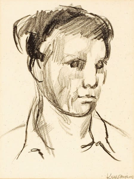 Keith Vaughan, Self-Portrait, c.1951