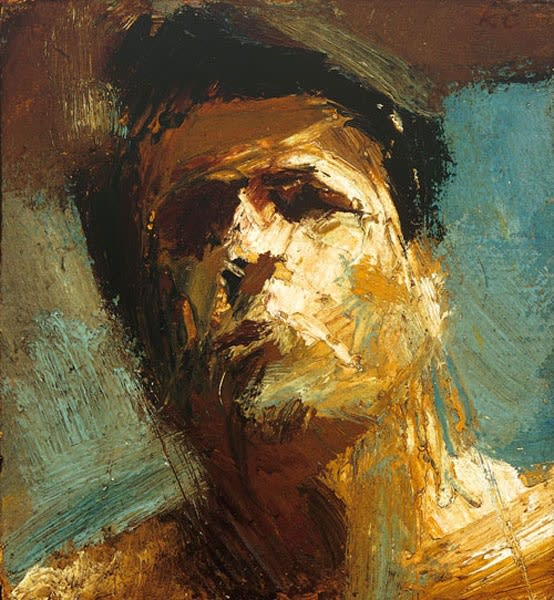 Keith Critchlow, Self-Portrait, 1960