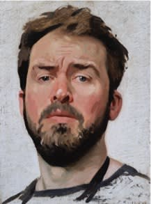 Jamie Routley, Self-Portrait , 2019