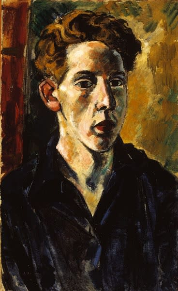 Alan Stuttle, Self-Portrait, 1956