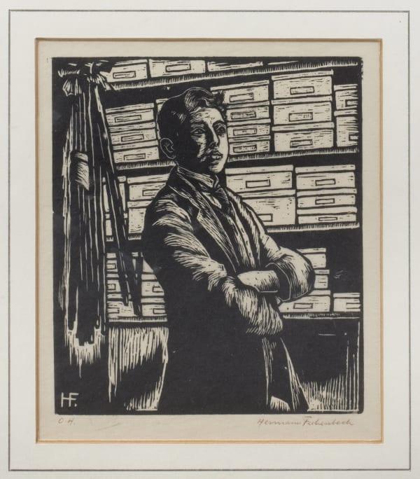 Hermann Fechenbach, Self-Portrait