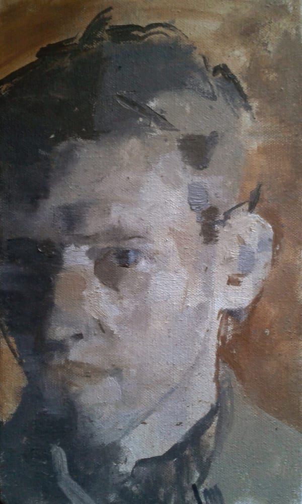 James Bland, Self-Portrait, 2013