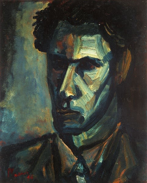 Leslie Marr, Self-Portrait, 1946