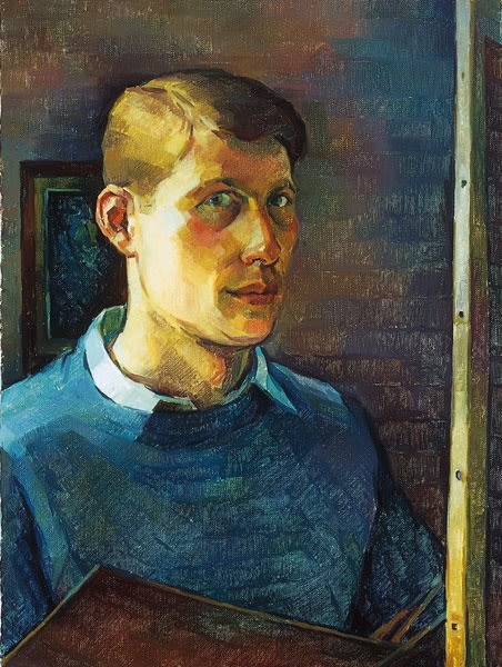 Anthony Harris, Self-Portrait, 1958