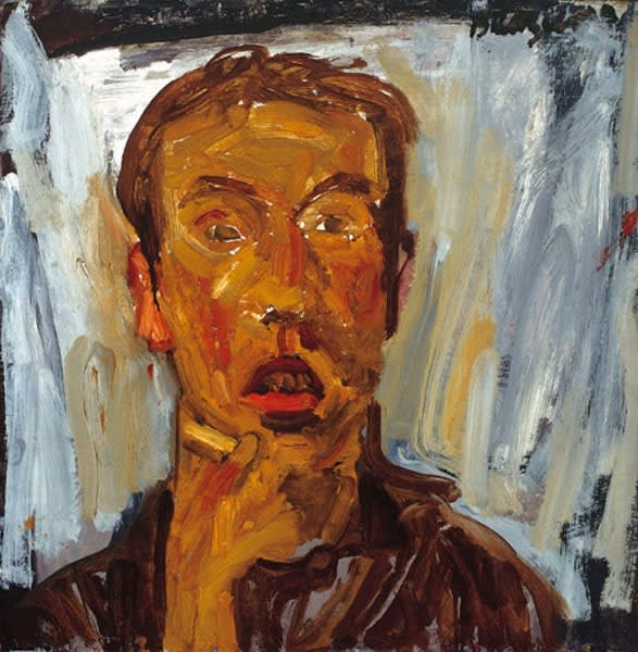 Kenneth Brazier, Self-Portrait, 1959