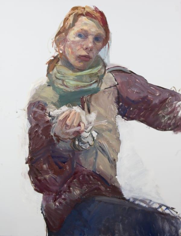 Eugenie Vronskaya, Night Studio Study