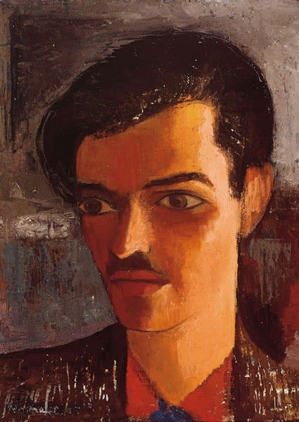Thomas Nathaniel Davies, Self-Portrait, 1947