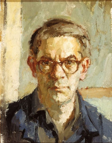 Bernard Dunstan, Self-Portrait, c.1962