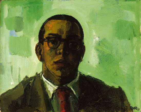 Gerald Rose, Self-Portrait, 1961