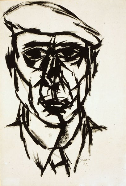 William Gear, Self-Portrait, 1953