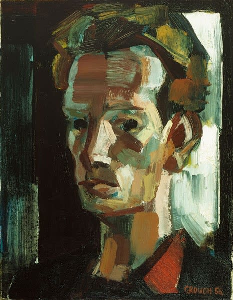 Brian Crouch, Self-Portrait, 1956