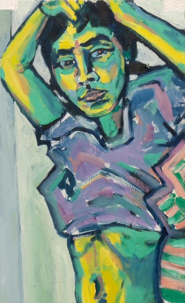 Toby Rainbird, Yellow Venus, 2020