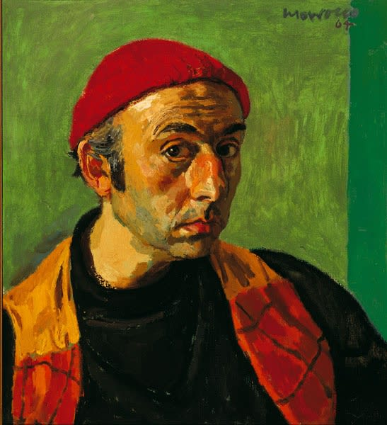 Alberto Morrocco, Self-Portrait, 1964