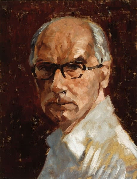 John Wynne-Morgan, Self-Portrait, c.1960