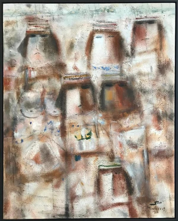 Fateh Moudaress, Untitled, 1988