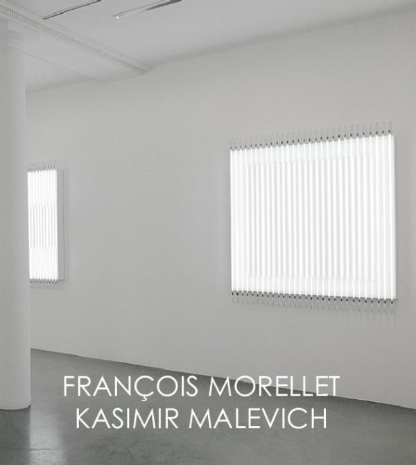 François Morellet and Kasimir Malevich