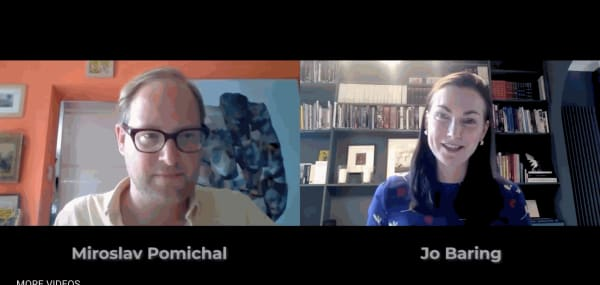 Miroslav Pomichal In Conversation With Jo Baring