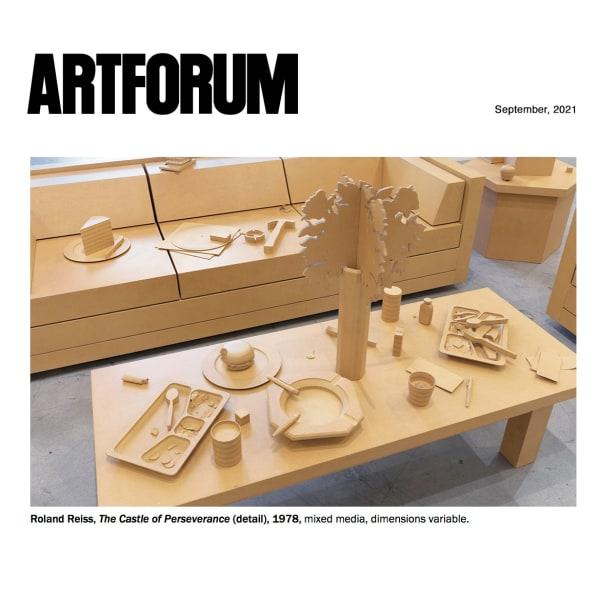 Roland Reiss in Artforum