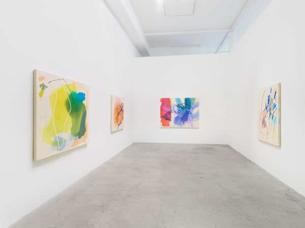 Installation view of Heather Day: Ricochet