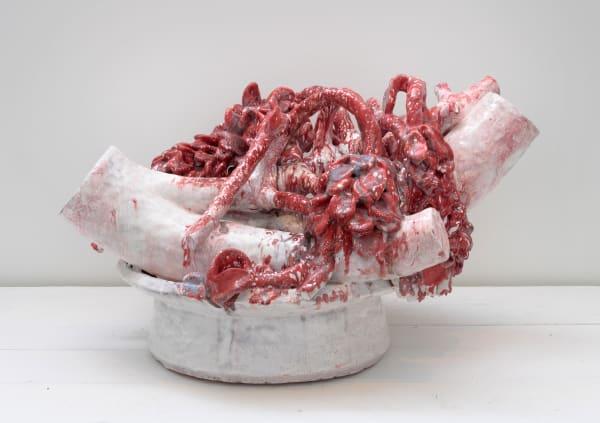 "David Hicks, ""Clipping (Red Vine),"" 2017"