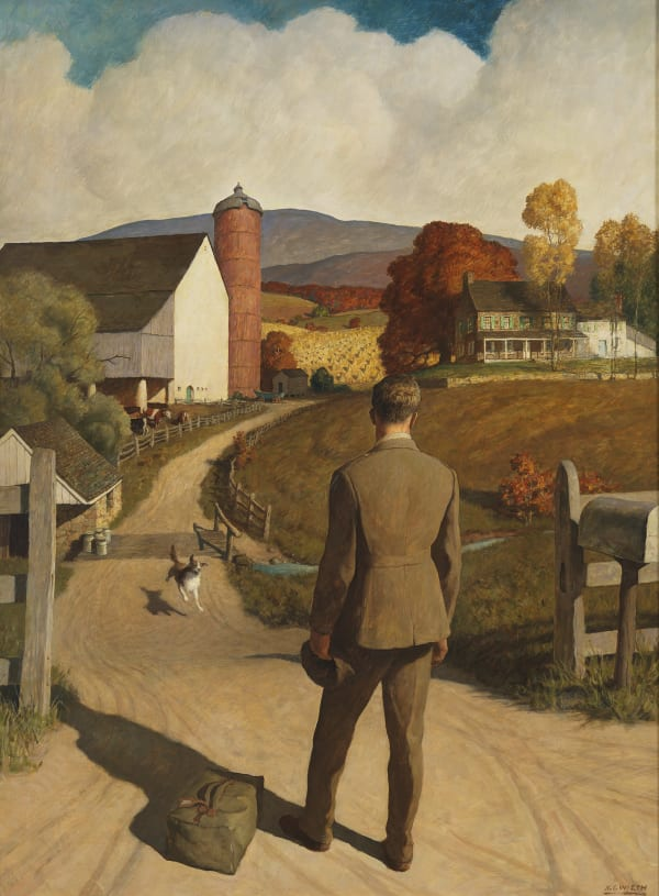 Homer, Wyeth, Rockwell: Three Visions of Veterans , By Jonathan Spies